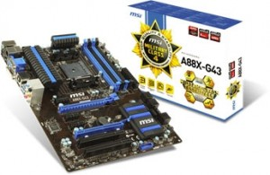 MSI A88X-G43