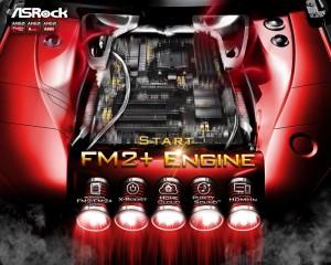Start FM2+ Engine with ASRock Motherboards