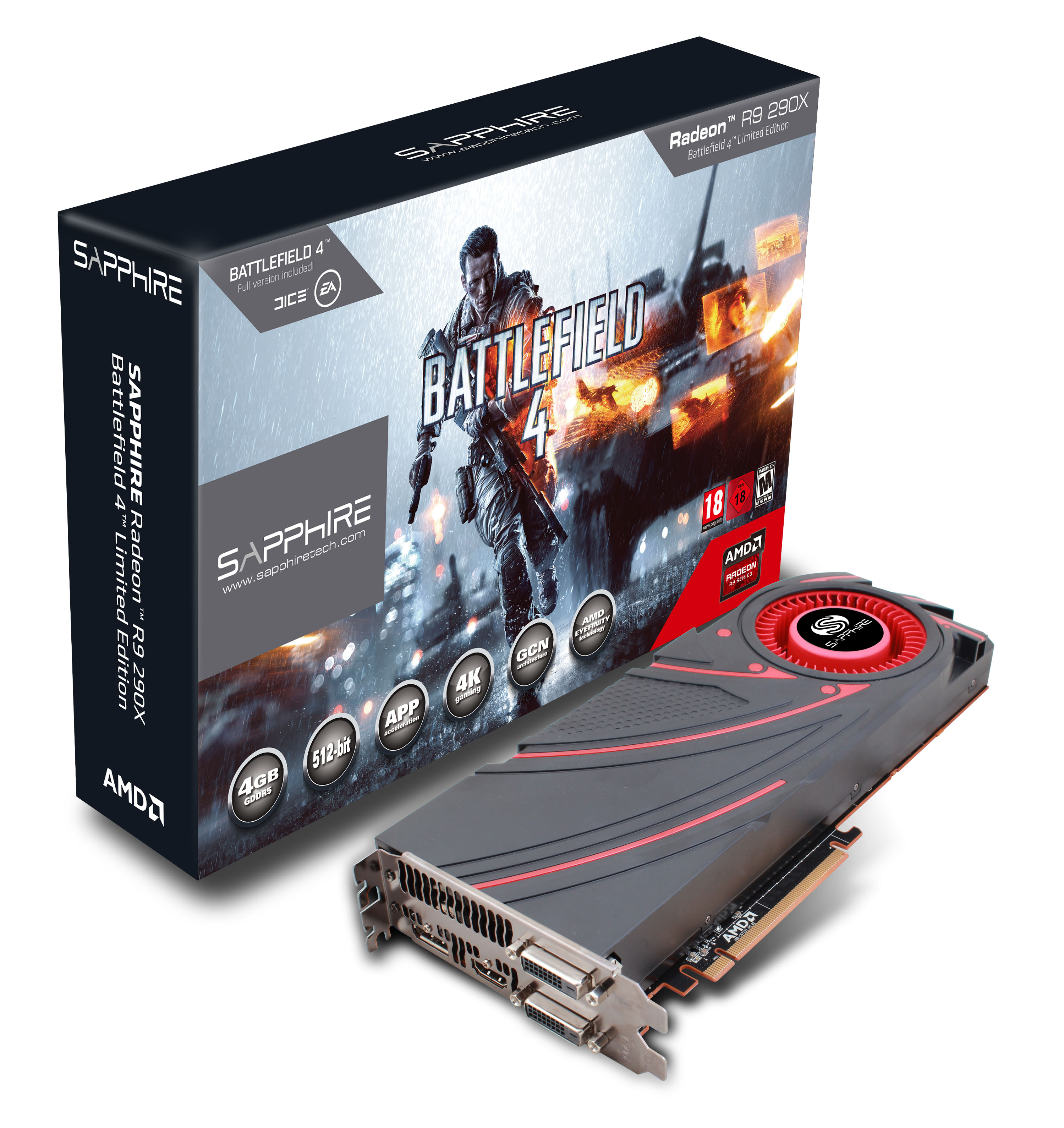 SAPPHIRE R9 290X TOPS THE BILL New top of the range graphics card delivers 4K graphics, AMD ...