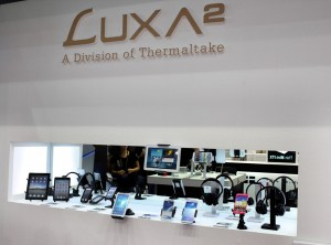 Immerse yourself in the LUXA2 Power and Audio experience at COMPUTEX Taipei 2014