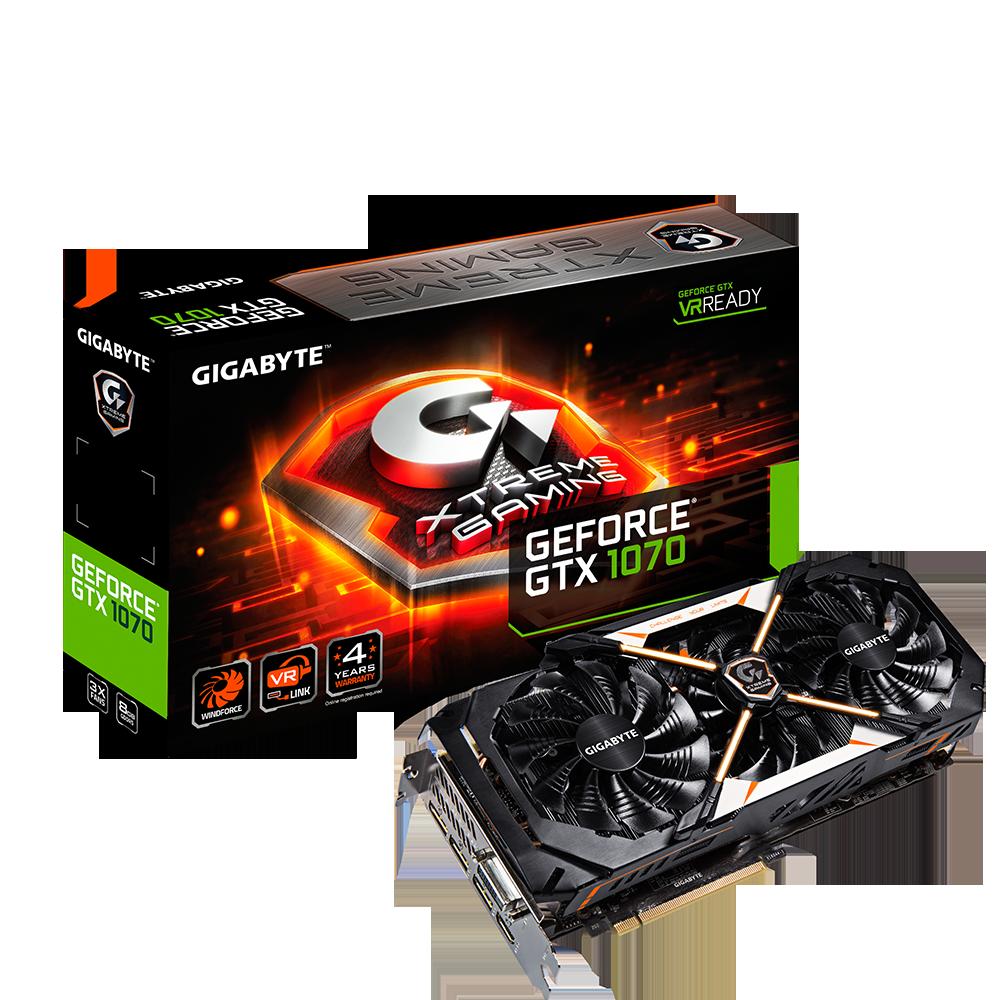 GTX 1070 Xtreme Gaming