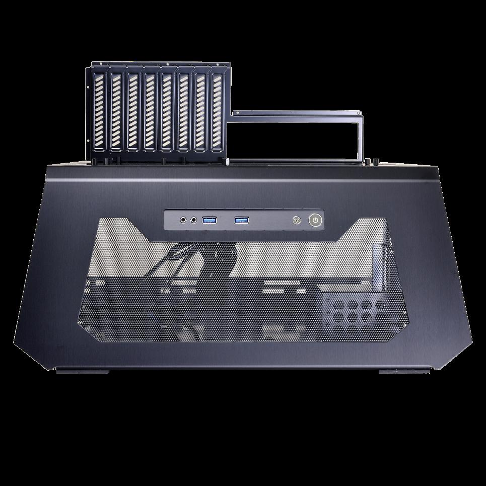 new lian li pc t70 test bench simulates any case