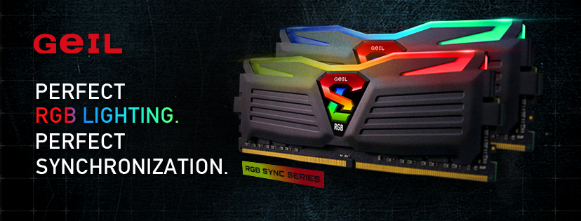 GeIL Announced SUPER LUCE RGB SYNC Gaming Memory - TheOverclocker