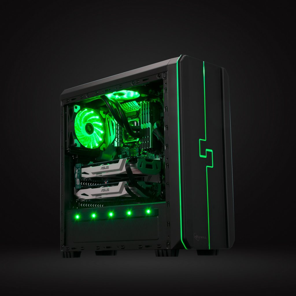 Rosewill Unveils Orbit Z1 Rgb Chassis Theoverclocker