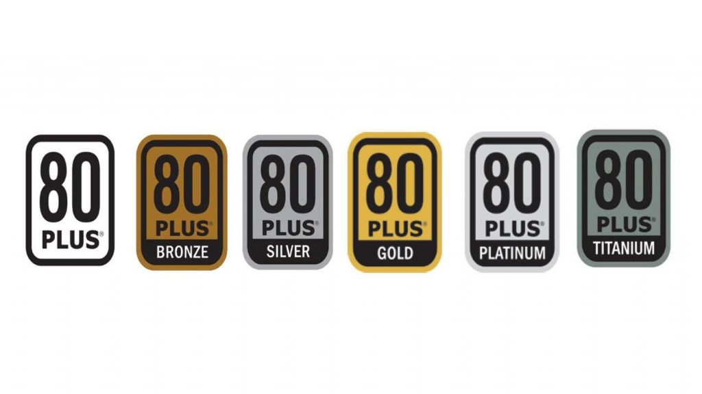 80 plus certification badges