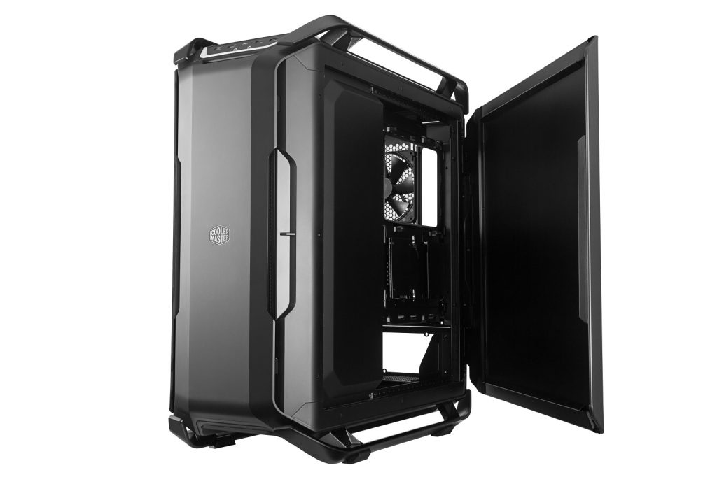 cooler master c700p black edition right side open