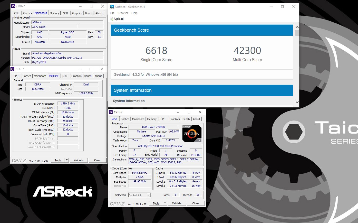 ASRock X570 Taichi OC Review - Page 9 of 11 - TheOverclocker