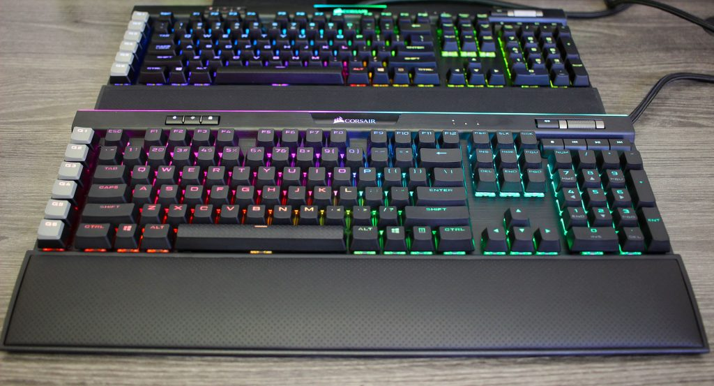 K95 RGB Platinum XT duo old and the new