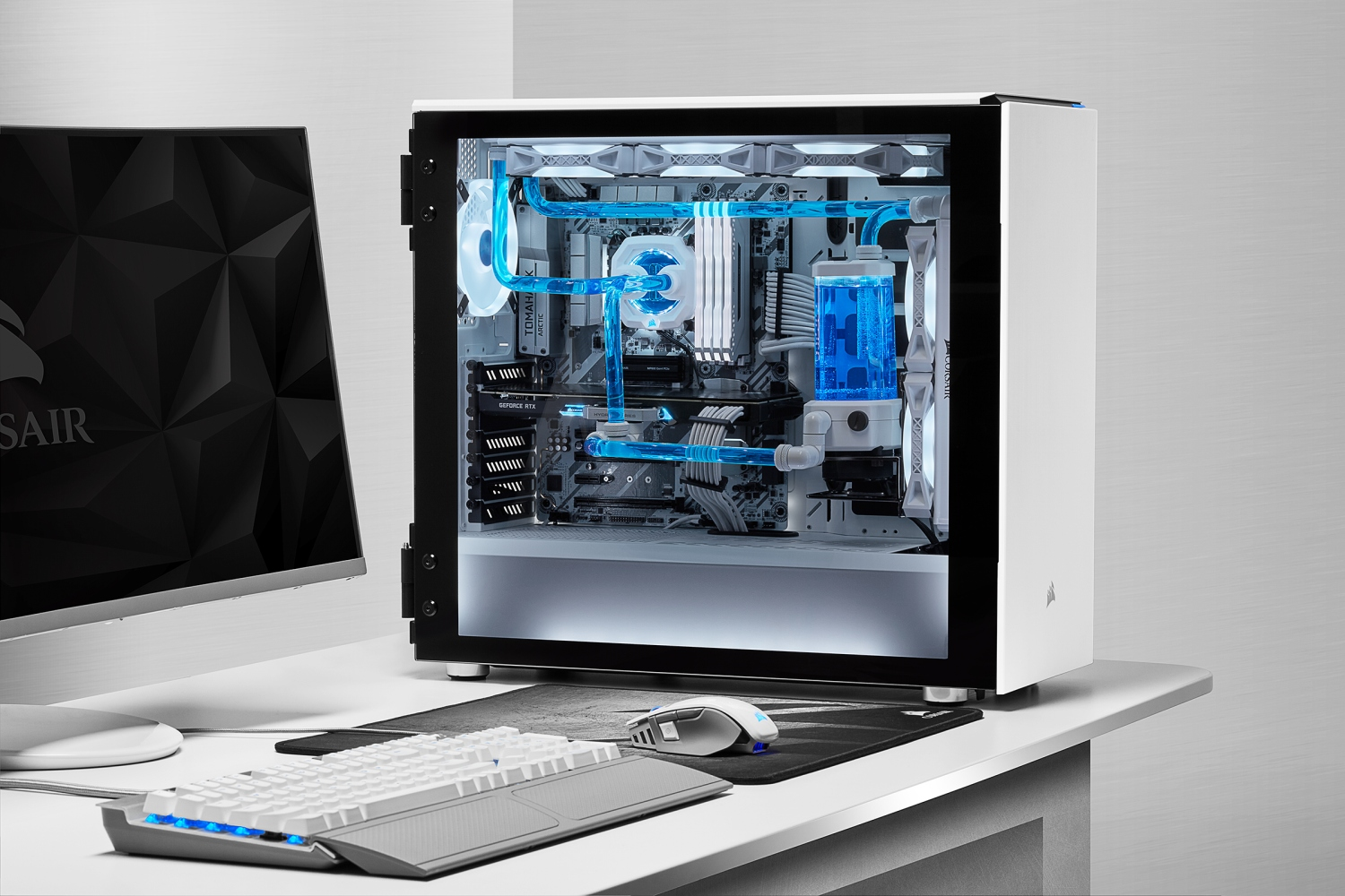 Corsair White Products