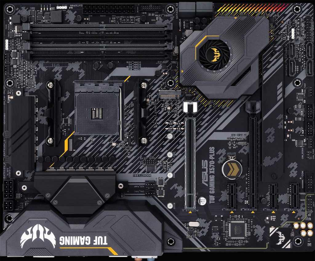 X570-Plus board overview