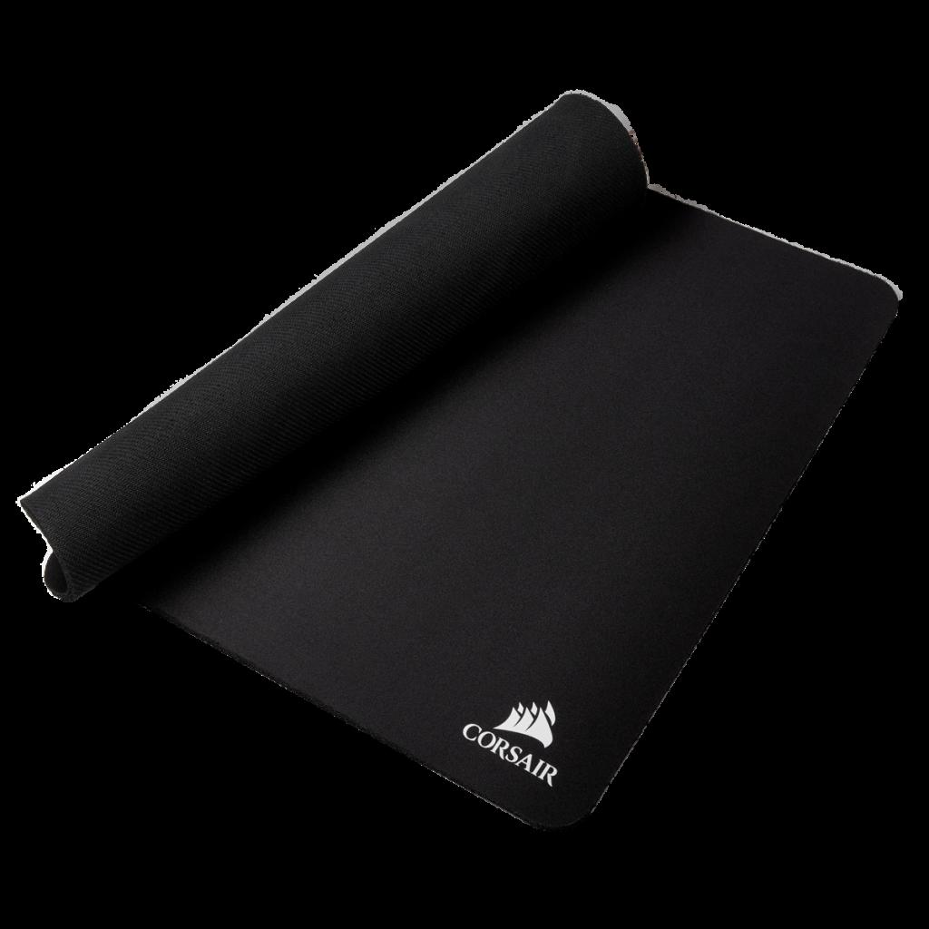 unrolling the corsair mm250 xl mousepad