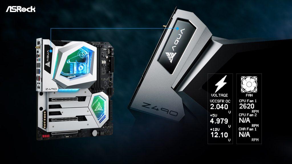 Z490 Aqua Build Quality