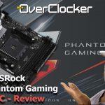 ASRock B550 Phantom Gaming ITX/AC Review