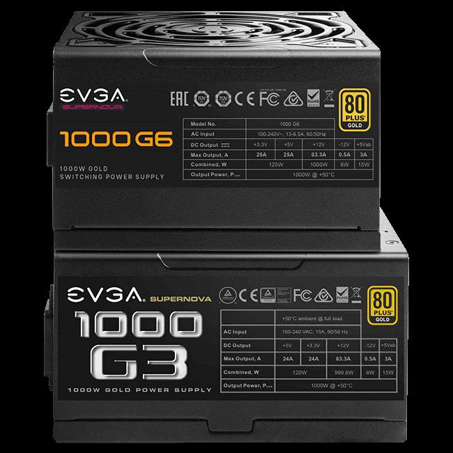 EVGA SuperNOVA G6 & G3