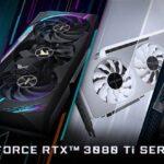 GIGABYTE Launches GeForce RTX 3080 Ti & 3070 Ti