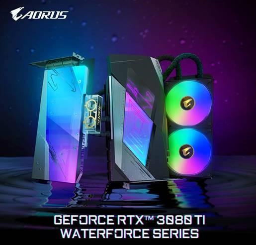 GIGABYTE GeFroce RTX 3080 Ti Waterforce