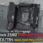 ASRock Z590 Phantom Gaming ITX/TB4 Review