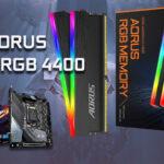 AORUS RGB DDR4 4400 Review & Tuning