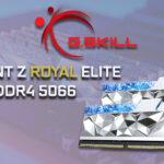G.SKILL Trident Z Royal Elite DDR4 5066 Review